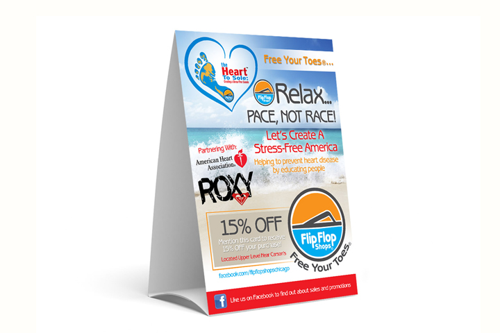Boxboard Packaging For Table Tents Custom Size Printed Logo Shaped - Create table tents
