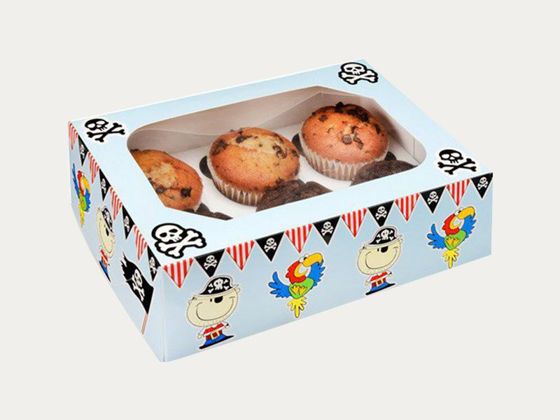 Muffin Boxes | Custom Printed Muffin Packaging Boxes At Wholesale