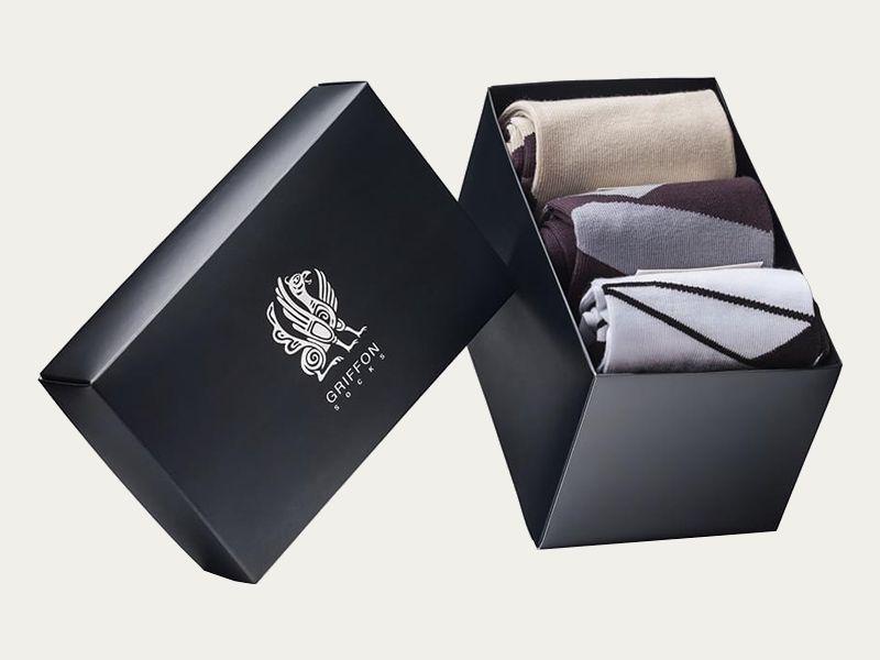 Get Custom Printed Socks Box Packaging at Wholesale Price | No