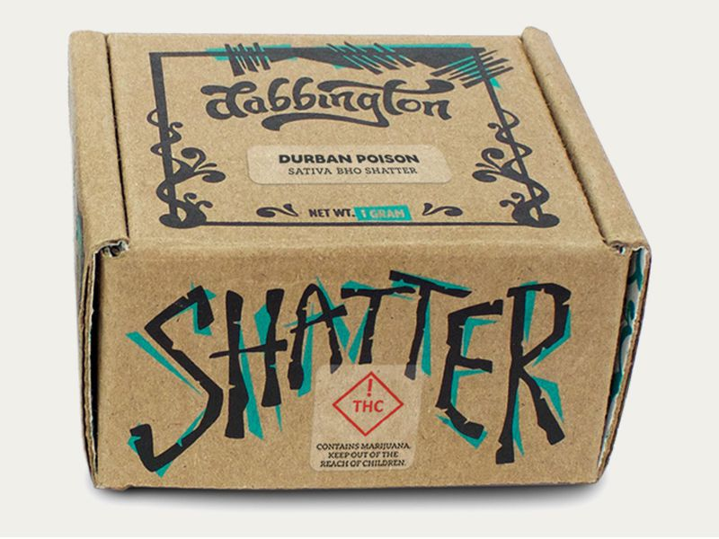 Wholesale Cannabis Shatter Packaging Boxes | Custom Logo